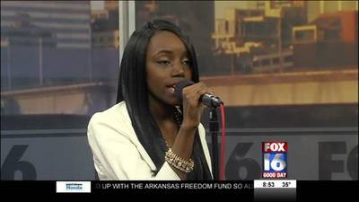 News video: Upcoming Recording Artist Candice Cooper Performs